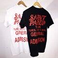 Saint Pablo Tour Merch I Feel Like Pablo Top Kanye West Shirt Men / Women 2016 Rock Tees T-shirt Cotton T Shirts