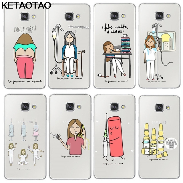Cellphones & Telecommunications Fashion Style Ketaotao Spain Cartoon Medicine Doctor Nurse Phone Cases For Iphone 4s 5c 5s 6 6s 7 8 X Case Crystal Clear Soft Tpu Cover Cases Nourishing The Kidneys Relieving Rheumatism