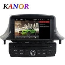 1024*600 Autoradio Android 5.11 For Renault Megane 3 Fluence 2009-2016 Car DVD Multimedia Player With GPS Radio Cassette SatNavi