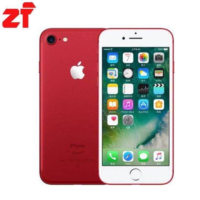 Apple iPhone 7 Plus новый оригинальный 2 ГБ Оперативная память 32 ГБ 128 ГБ 256 ГБ Встроенная память iOS 10 LTE 4 ядра отпечатков пальцев Марка сотовых телефонов iPhone 7 Plus