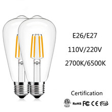JSEX LED Bulb E26/E27 110V/220V Led Lamp Filament Bulbs Corn Light Nature white Edison Smart Indoor L
