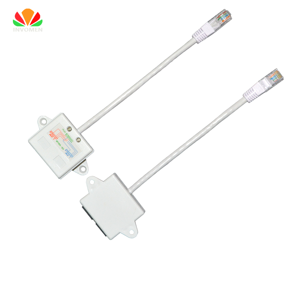 hight resolution of ethernet extension cable network splitter rj45 connector 4578 to 1236 lan port jb router iptv share 1 cable 2pc internet online in computer cables