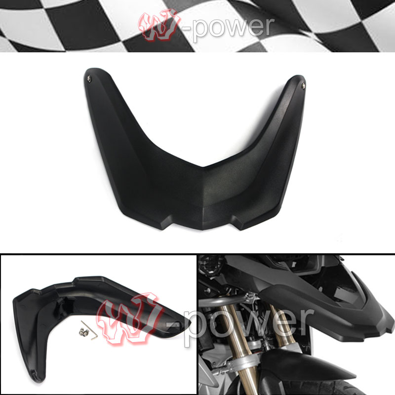 Motorcycle Front Mudguard Extender Extender Wheel Cover Cowl fite For BMW R1200GS LC 2013 2014 2015 2016 Black набор тарелок мелких 6 шт 25см форма сабина 1457 фарфор leander 655479