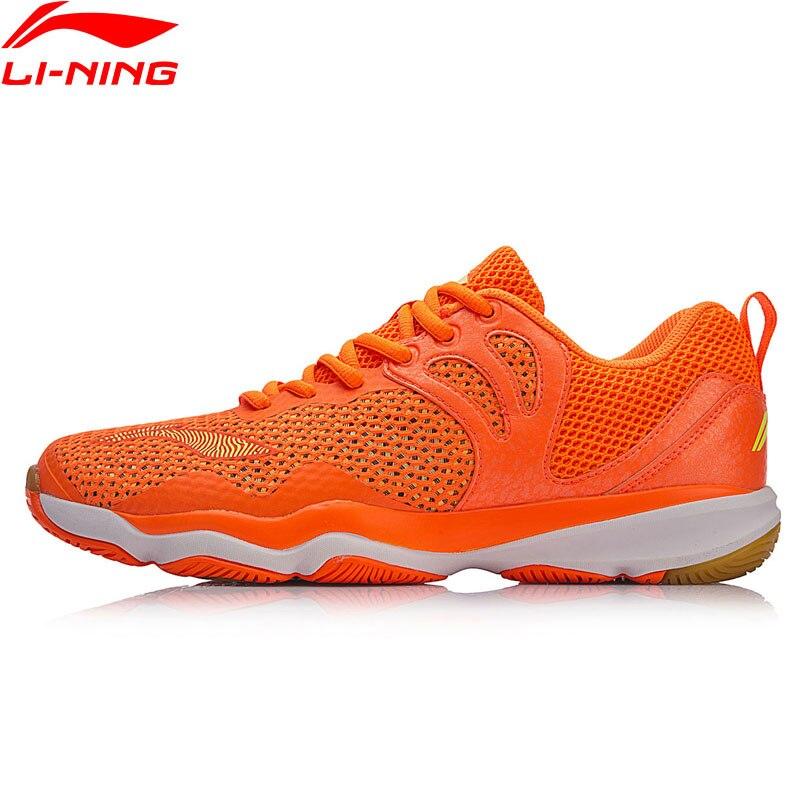Li Ning Men RANGER II LITE TD Badminton Training Shoes Wearable Anti Slip LiNing Breathable Sneakers