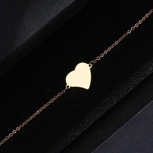 DOTIFI браслет из нержавеющей стали для женщин и мужчин, золотого и серебряного цвета, Женские Ювелирные изделия для влюбленных, Прямая поставка