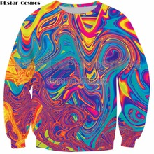 PLstar Cosmos Oil Spill 3D Print Hoodies Men Hoody Sweatshirt Fashion Hipster Streetwear Tops