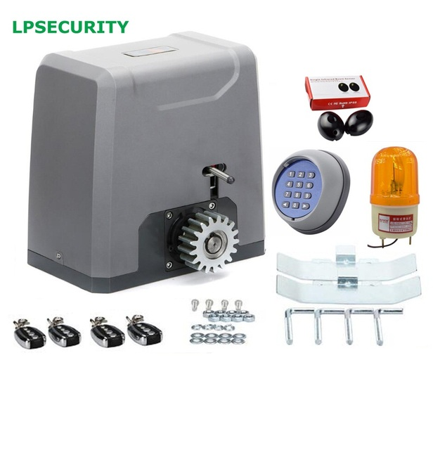 LPSECURITY 1000KG portal acces system sliding gate operator industrial door automation with 4 remotes y photocells  sc 1 st  AliExpress.com & LPSECURITY 1000KG portal acces system sliding gate operator ...