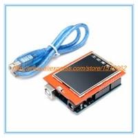UNOR3 UNO R3 MEGA328P Development Board + 2.4 Inch TFT Touch LCD Screen Module Display Screen for Arduino DIY Starter Kit