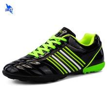 Chaussures de Football en plein air pour garçon et fille, Sneakers unisexes de 32 à 45 pouces pour entraînement athlétique et Futsal, nouvelle collection 2020