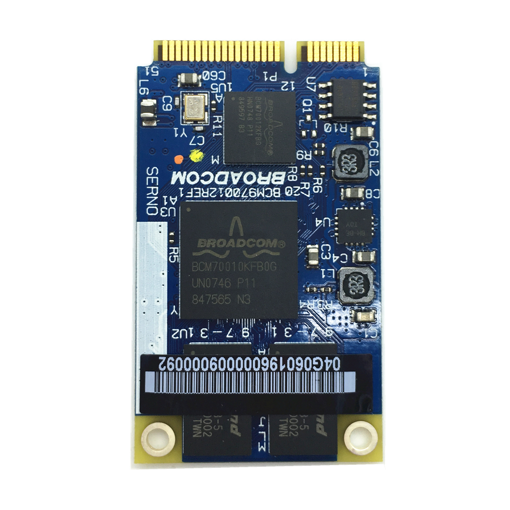 For Broadcom BCM70012 BCM970012 BCM70010 Crystal HD Decoder AW-VD904 Mini PCI-E Card
