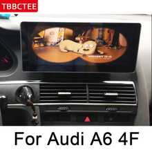 For Audi A6 4F 2004~2009 MMI Android Car Radio GPS Multimedia Player Navigation WiFi BT Navi Stereo touch screen map system недорого