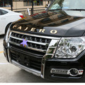 Für Mitsubishi Pajero 3D Aufkleber Brief Logo Emblem Abzeichen Aufkleber Auto Haube Körper Seite Logo Dekoration Auto Zubehör Styling-in Autoaufkleber aus Kraftfahrzeuge und Motorräder bei