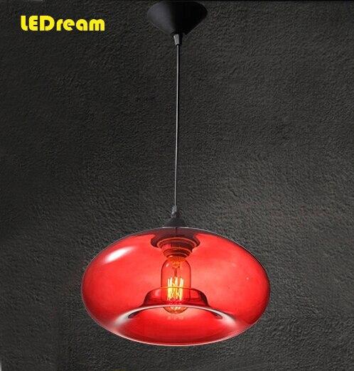 Arte italiana lampadario in vetro ristorante di moda lampada droplight ...
