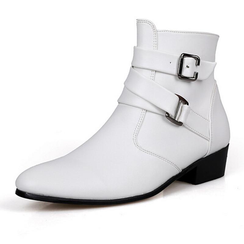 Popular Men White Ankle Shoe-Buy Cheap Men White Ankle Shoe lots