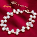 6-7mm Luxurious Natural Freshwater Pearl Bracelets Fashion Design Accessories With High Quality for women wedding jewelry