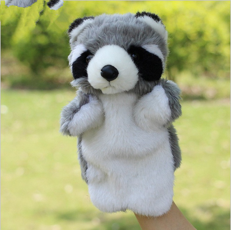 Animal-Plush-Hand-Puppet-Doll-Toys-Pig-Cat-Owl-Monkey-Dog-Rabbit-Shark-Bear-Puppet-Kids-Soft-Kukla-Toys-Marionnette-5