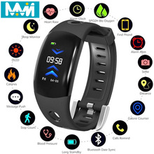 DM11 Color LCD Smart Bluetooth Wristband Heart Rate Fitness