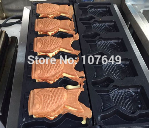 Free Shipping to USA/Canada/Japan/Mexico Commercial Use Electric 110v Ice Cream Taiyaki Fish Waffle Maker Iron Machine Baker free shipping factory oem ice hockey jerseys team cheap embroidery mens supplier tackle twill shirt usa canada australia