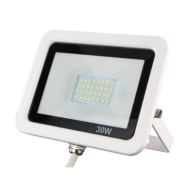 10pcs Ultrathin Foco Spot LED Spotlight Outdoor Exterior Flood Light 10w 20w 30w 50w Waterproof Landscape Lighting Floodlight