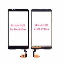 """Top Quality Touch Panel For Sony Xperia E4 E2104 E2105 5.0"""" & 4.7"""" Dual E2033 E2003 Touch Screen Digitizer Glass Lens Panel"""