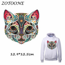 ZOTOONE Colorful Animal Iron on Patch Heat Transfer Patches for Clothing TShirt Beaded Applique Clothes DIY Accessory Decoration