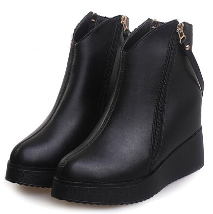 Aliexpress.com : Buy Autumn winter buckle ankle boots fashion ...