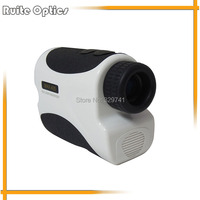 400m White Golf Laser Range Finder Laser Distance Meter Measuring Equipment With Pin Seeking Flag Model