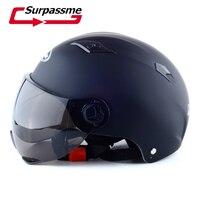 Vintage Motorcycle Motorbike Vespa Open Face Half Motor Scooter Helmets Bike Bicycle Helmets
