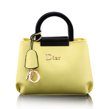 Exquisite Simple PU Hand Bag Lady Letters Printing Stylish Sweet Style Shoulder Bag Women Fashion PU
