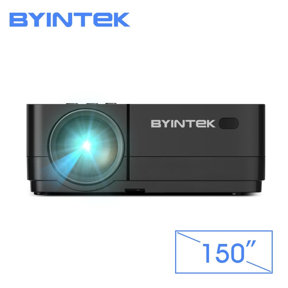 BYINTEK K7 Android Wifi Intelligente HA CONDOTTO LA Mini Portatile Video Proiettore HD Per Iphone Ipad Smartphone Tablet Gioco 1080 P Casa teatro