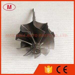 Image 1 - GT3076R GTX3076R GTX3067R 55/60mm 9 Lưỡi dao bi Turbo Turbine bánh trục/tuốc bin trục & bánh xe