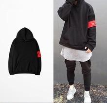 2017 winter streetwear hoodies männer hip hop sweatshirts 424 pullover männer übergroße sudaderas hombre kanye west clothing