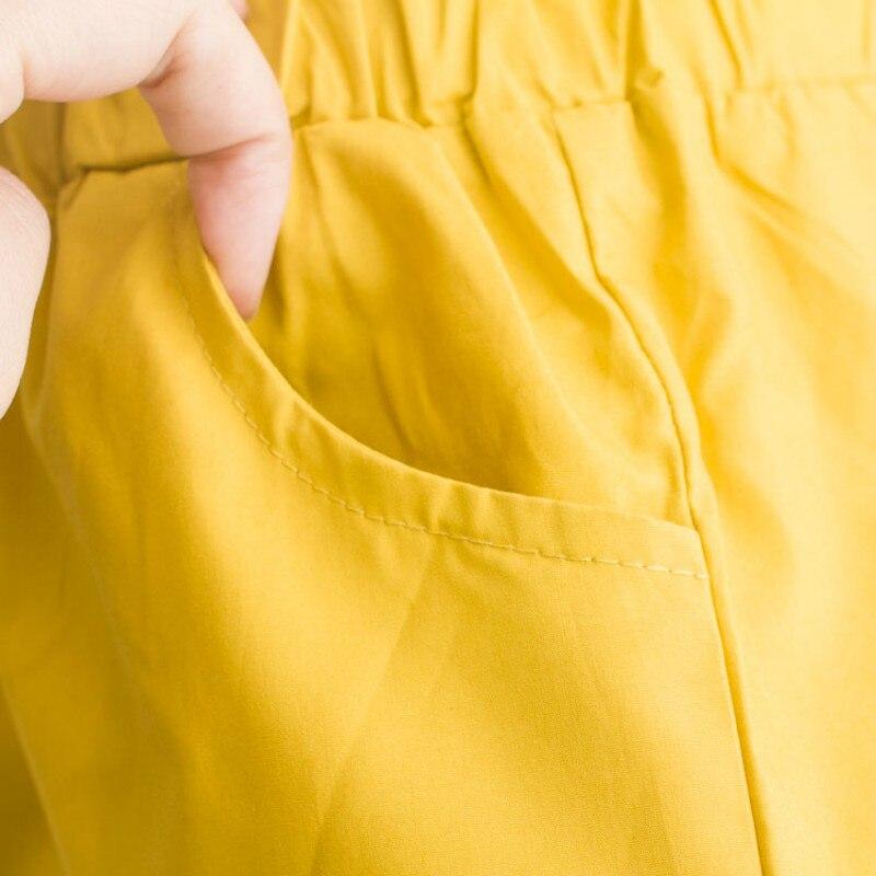 Girl retro floral 2 clothes sets 2021 summer new fashion polka dot Sleeveless Shirts waist belt tie shorts clothing suits 6
