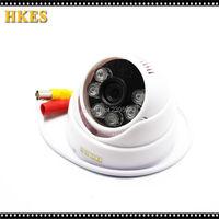 HKES AHD 720P 960P 1080P Indoor IR Dome Camera Night Vision Analog High Definition Surveillance CCTV