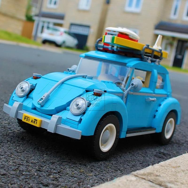 Lepin-Technic-21001-Volkswagen-T1-Camper-21003-Beetle-21002-Cooper-Car-Building-Blocks-Bricks-Toys-10220