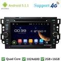 QuadCore Android 5.1 Coches Reproductor de DVD de Radio Estéreo 4G Para Chevrolet Daewoo Matiz Gentra Kalos Aveo Epica Captiva Spark Optra Tosca