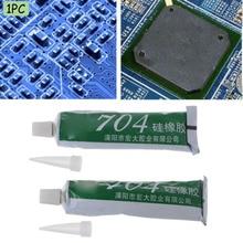 1 шт. 704 фиксированные термостойкие силиконовые уплотнители клей водонепроницаемый изоляционный герметик для электроники
