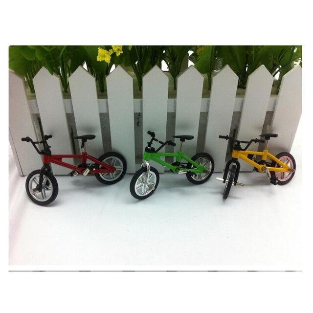 Творческий модель моделирование мини сплава велосипед 1:18 палец велосипед модель горный велосипед модель дисплей мини игрушки для мальчиков