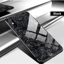 Luxury Bling Shell Soft Edge Tempered Glass Cases For Huawei