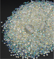 2MM 100pcs nail Rhinestones sticker ab color round mobile phone beauty diy jewelry  accessories nail materials flat diamond 100