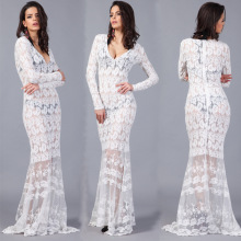 Fashion Sexy Brand Summer Dress Casual Lace Summer Style Vestidos De Festa Maxi Dress Tropical Women Dress Femininas