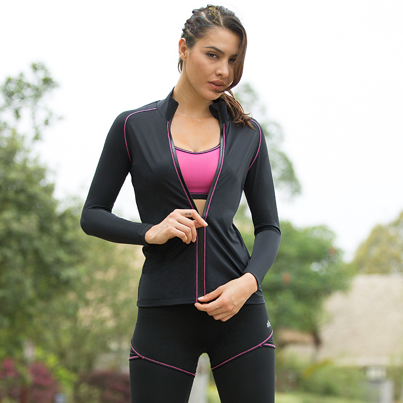 a8249c2bd5303 YOMER Women Yoga Sets Breathable Sportswear Fitness Suits Sports Bra  Running Shirt Jacket Jogging Trainning Pants Shorts Spring on  Aliexpress.com