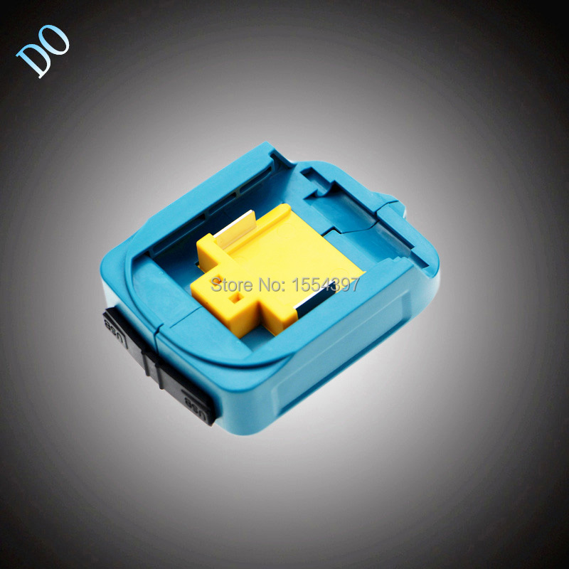 New 18V 14.4V Li-ion Dual USB Port Adapter Replacement for Makita ADOP05 LXT Converter Power Tool Rechargeable Battery Charger
