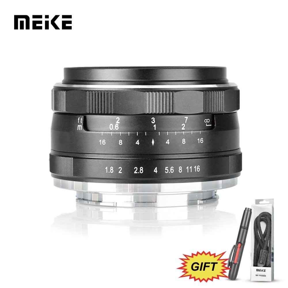 Meike MK 25mm f/1.8 Large Aperture Wide Angle Lens Manual for nikon J1/J2/J3/J4/J5 V1/V2/v3/V4 meke meike mk 35mm f1 7 large aperture manual focus lens for nikon1 v1 v2 v3 s1 s2 j1 j2 j3 j4 j5 cameras
