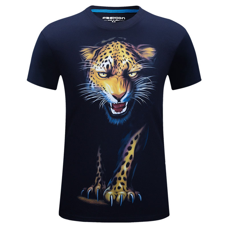 Online Buy Wholesale mens leopard print t shirt from China mens ...