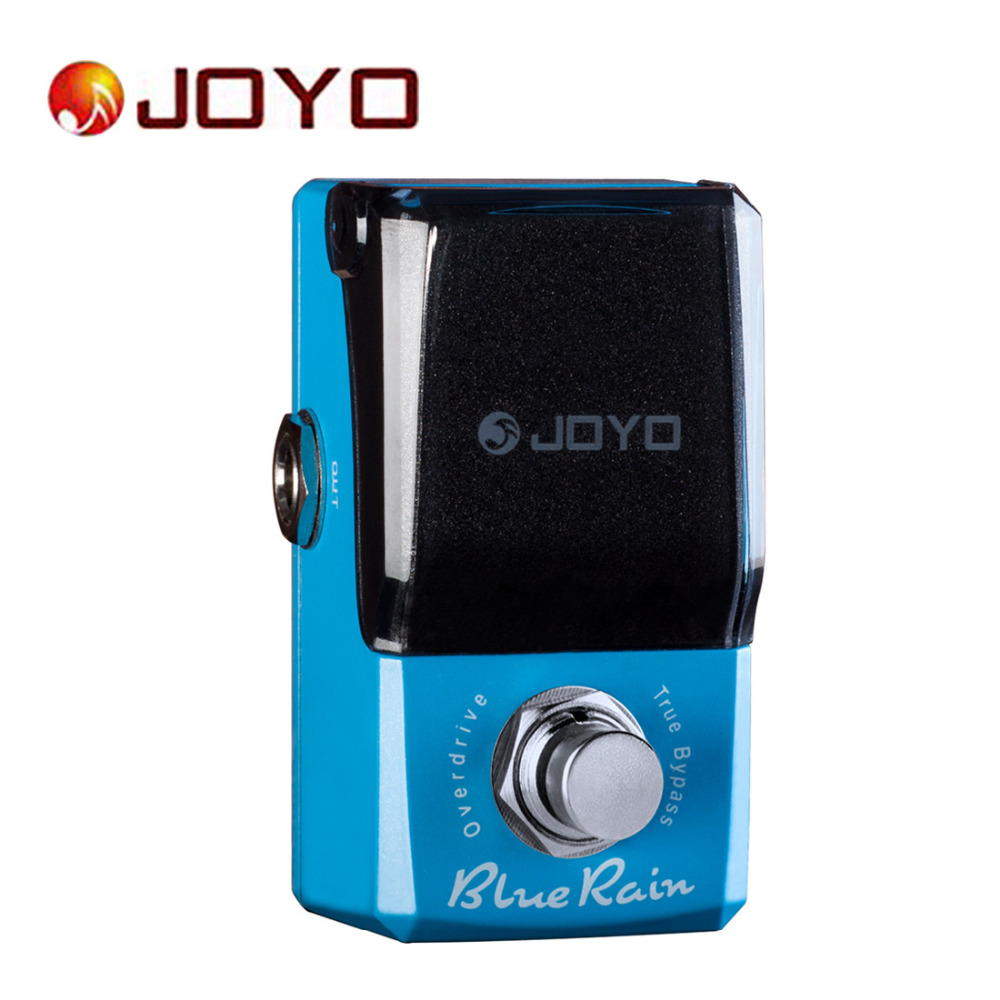 JOYO IRONMAN JF311 Guitar Effect Pedal Blue Rain Overdrive Mini Electric Guitar Pedal Box Accessories with True Bypass
