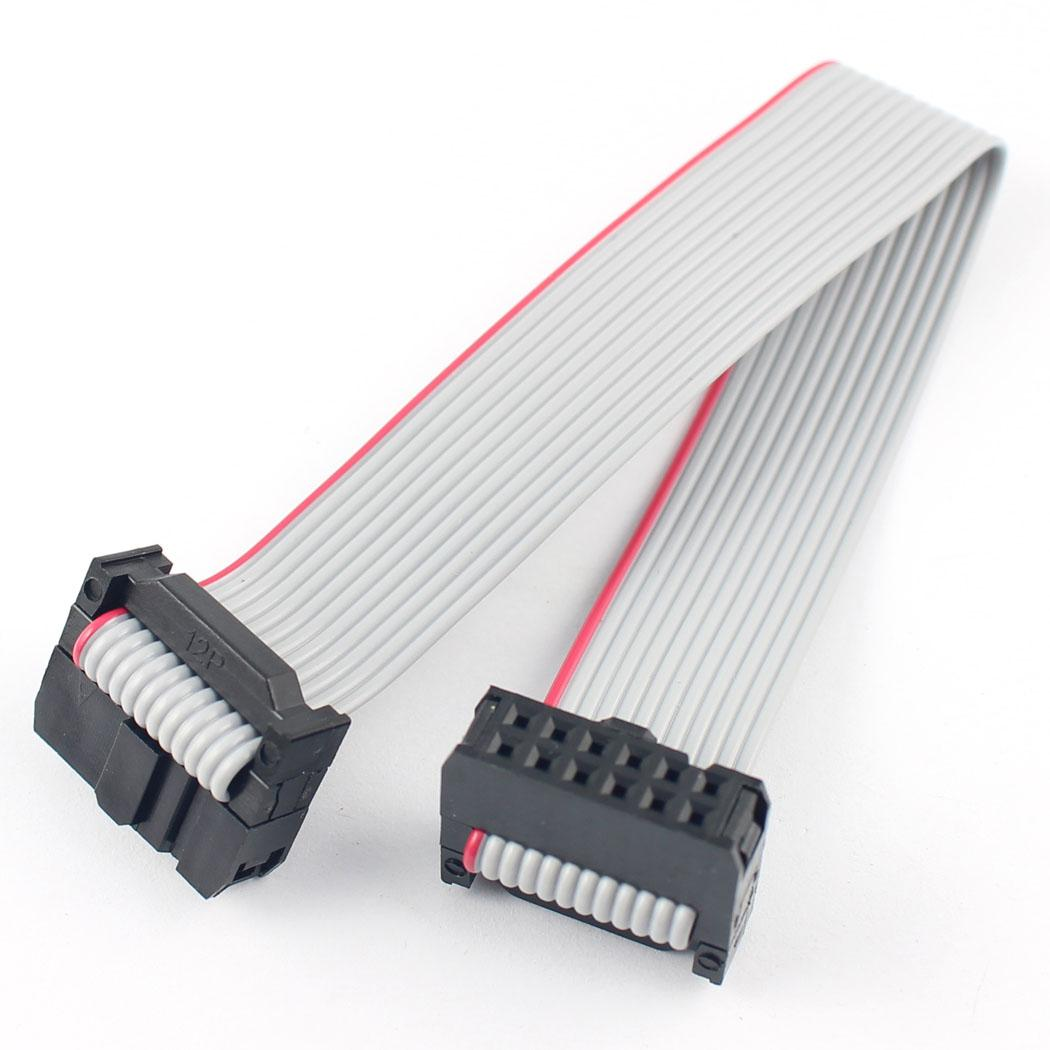 10 Pcs Per Lot 127mm Pitch 2x5 Pin Idc Fc Female Header 1394 6 Wiring Diagram 2pcs 254mm Wire Extension Flat Ribbon Cable L