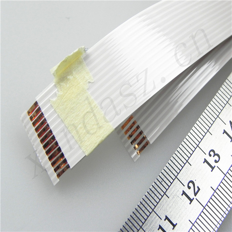 18MM width1.4MM 12P G type 660MM length Insulating film 80uM airbag ffc cable for renault megane II free shipping