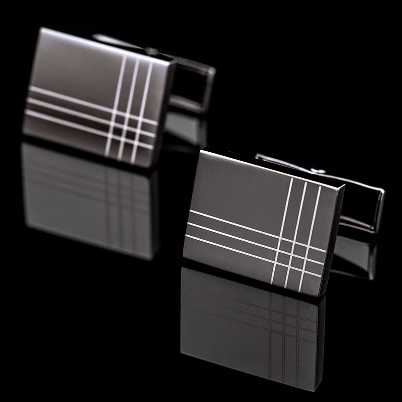 KFLK High Quality Cuff links necktie clip for tie pin for mens tie bars cufflinks tie clip set Free Shipping 2017 New Arrival