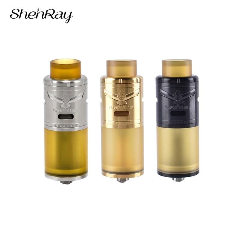 Shenray VG extrême RTA atomiseur Cigarette électronique 23mm 5 ml Mech réservoir avec 810 PEI pointe d'égouttement pour Vape Kit boîte Mods E Cigs nouveau